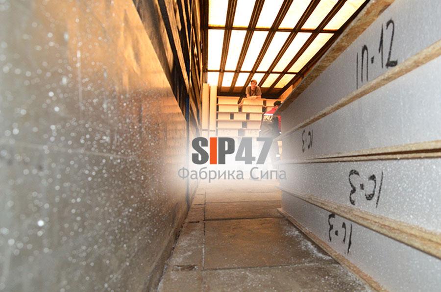 Отгрузка домокомплекта из СИП- панелей в город Клин Московской области