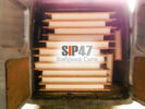 Самовывоз СИП- панелей 124 мм для строительства курятника