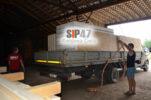 Доставка СИП- панелей в деревню Гостилицы для самостоятельного строительства