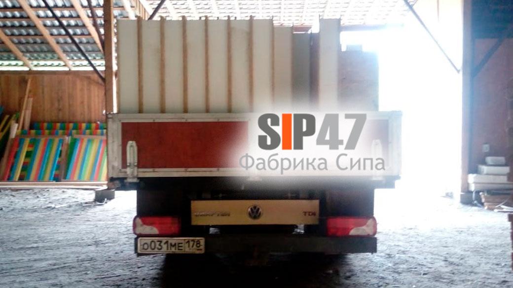 Самовывоз СИП- панелей в деревню Горелово Красносельский район