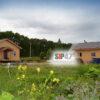 Закончено строительство двух СИП- домов по проекту №59