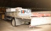 Отгрузка комплекта из СИП- панелей 124 мм и пиломатериалов для строительства пристройки