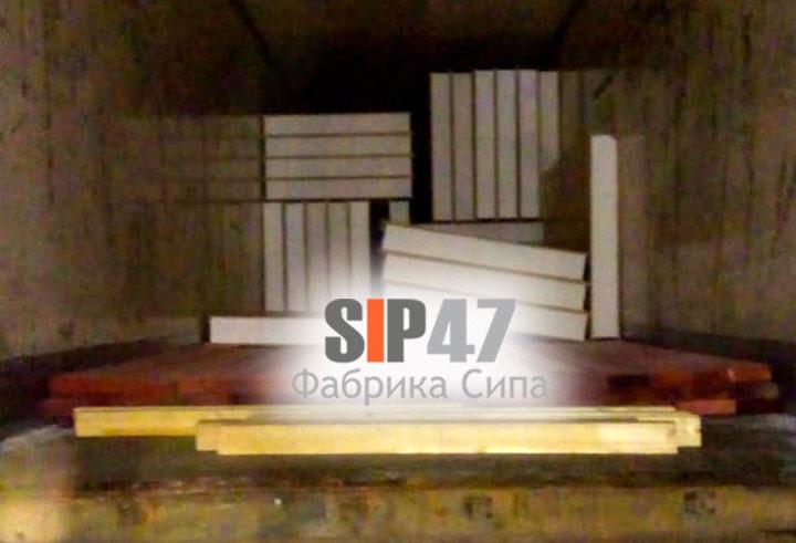 Комплект СИП- панелей и пиломатериалов отгружен в посёлок Рощино