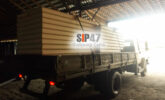 Отгружены СИП- панели из СМЛ (стекломагнезита) в посёлок Горелово