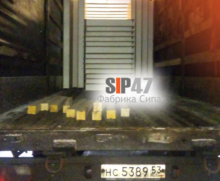 Доставка СИП- панелей 2500х1250х174 мм