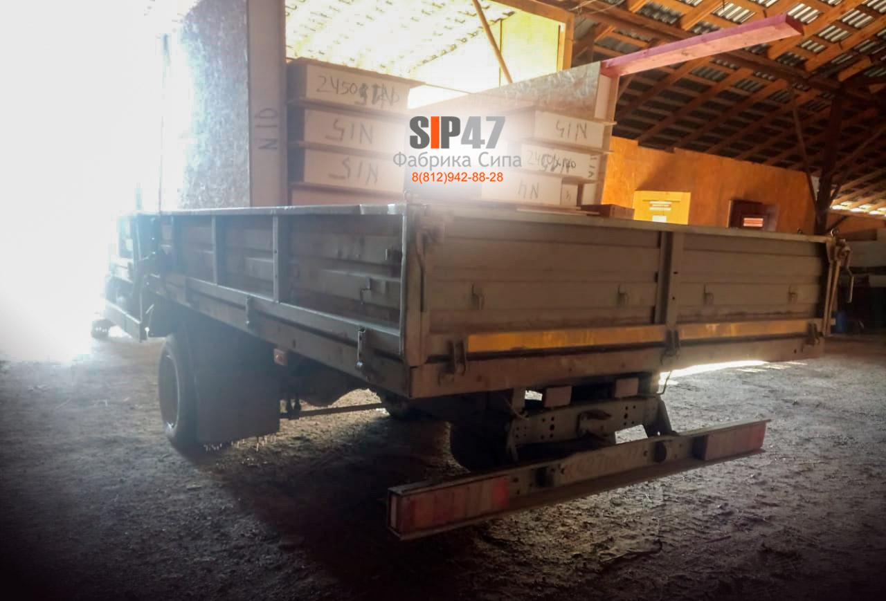 Отгружена пристройка из СИП-панелей в посёлок Форносово
