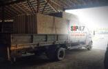 Отгрузка СИП-панелей для строительства дома в посёлок Вырица