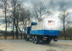 Доставка СИП-панелей из ЦСП и СМЛ в посёлок Войсковицы