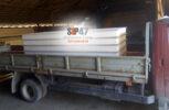 Доставка ЦСП панелей в деревню Сокули