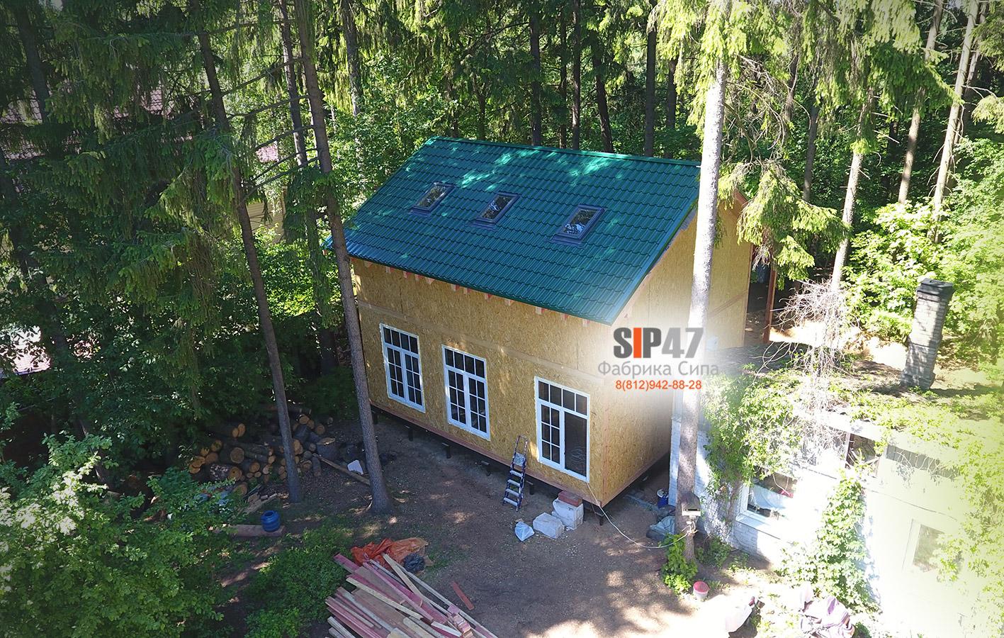 Закончили строительство дома 113 м²