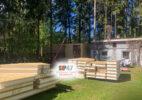 Идет строительство СИП-дома по проекту