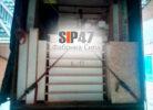 Отгрузка СИП-домокомплекта в деревню Борисово