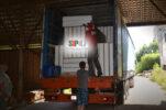 Отгружены СИП-панели в деревню Клясино