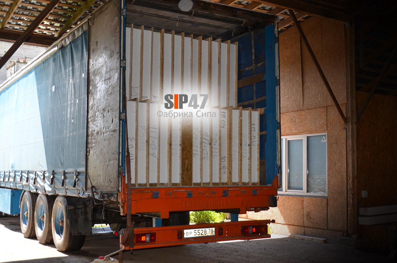 Осуществлена доставка СИП-домокомплекта в посёлок Красный Бор