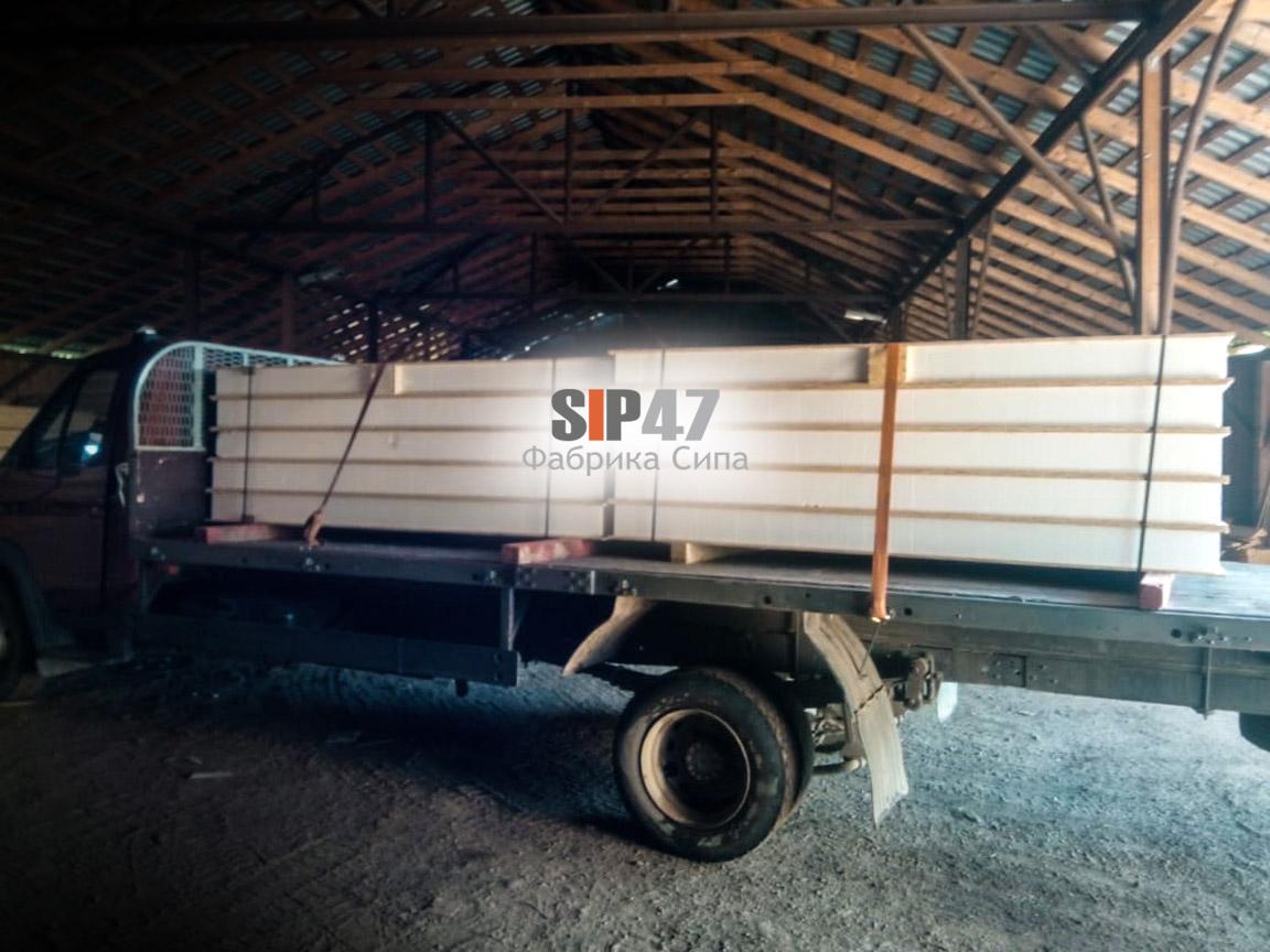 Доставка СИП-панелей в посёлок Белоостров для самостоятельного строительства