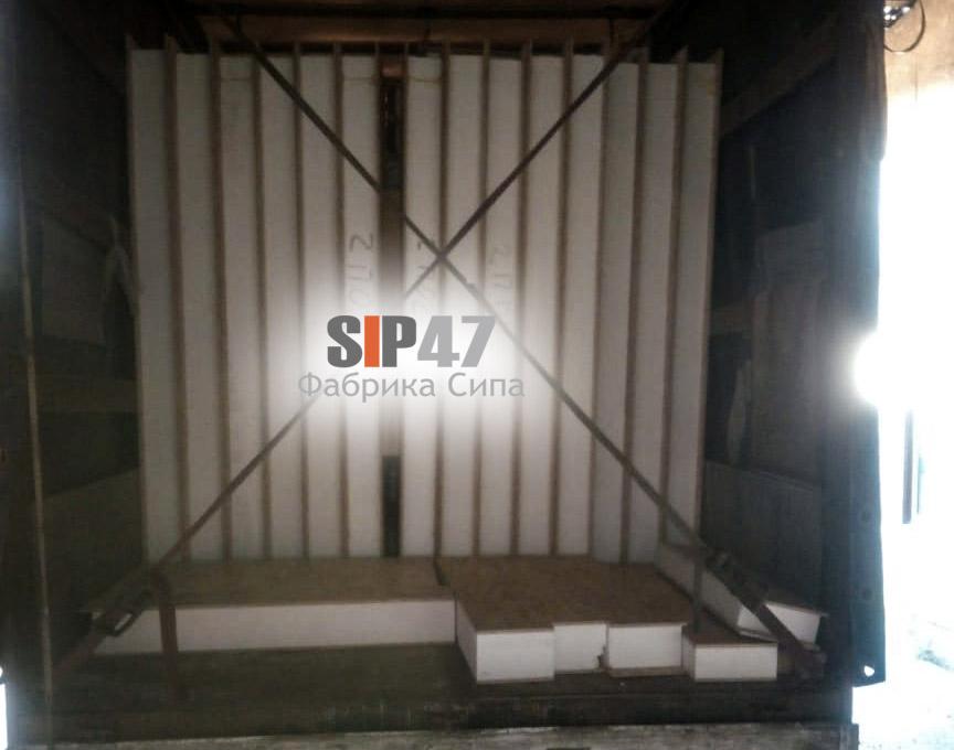 Отгружен домокомплект по проекту №59 в деревню Тихковицы