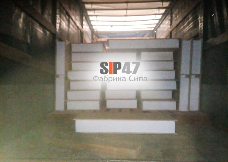 Доставка СИП-панелей в город Сосновый Бор для самостоятельного строительства