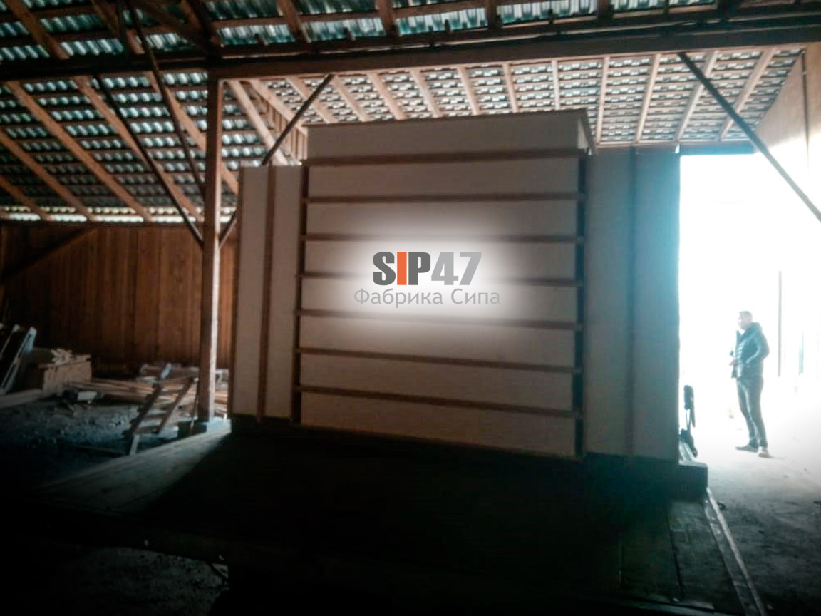 Отгружены СИП-панели в Курортный район посёлок Белоостров