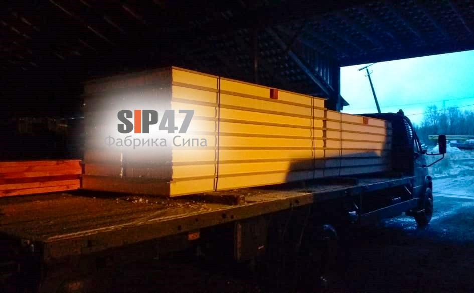 Доставка СИП-панелей из ЦСП и OSB в Колпино