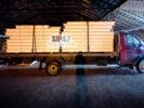 Доставка комплекта СИП-панелей для самостоятельного строительства