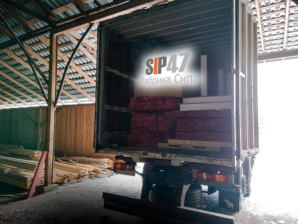 СИП-домокомплект для самостоятельной сборки отгружен в СНТ Захожье