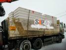 Доставка СИП-панелей из стекломагнезитовой плиты в посёлок Сусанино