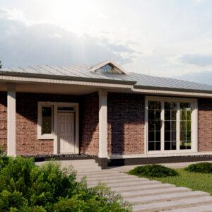 Дом из СИП-панелей 217 м²