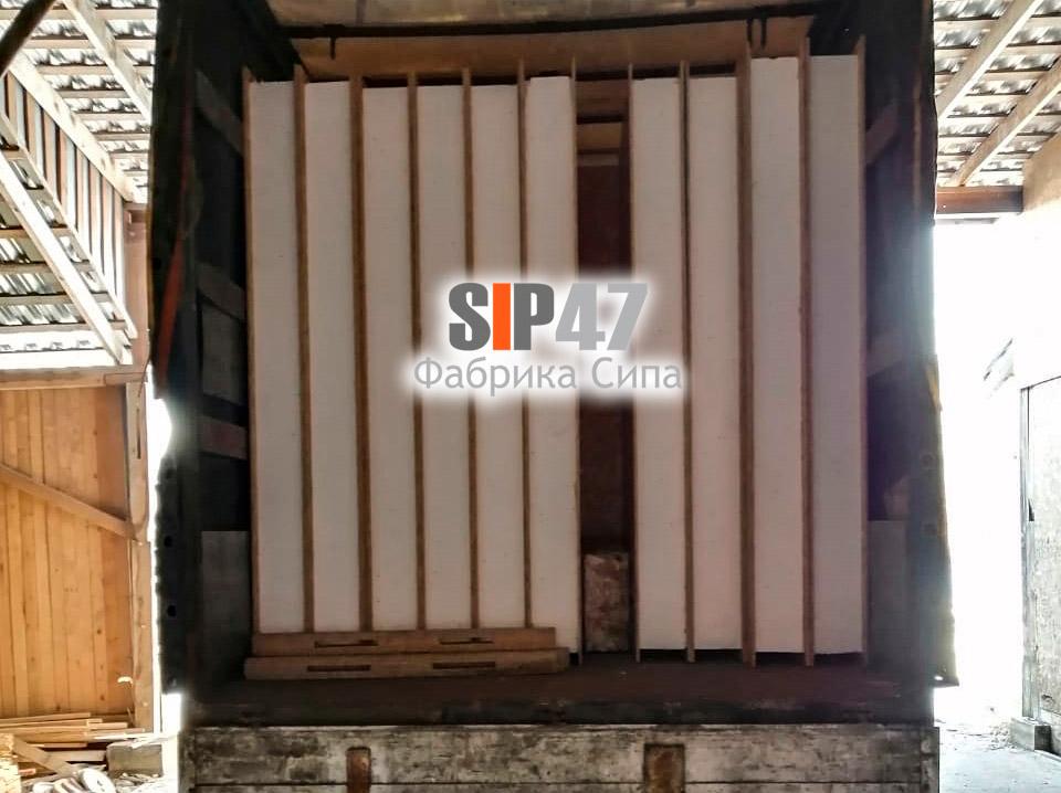 Доставка СИП-панелей в Сертолово Всеволожский район