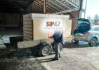 Самовывоз СИП-панелей в Гатчинский район