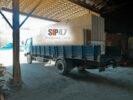 Отгрузка СИП-панелей в коттеджный посёлок Поле