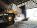 Доставка комплекта материалов для строительства СИП-дома в деревне Узигонты
