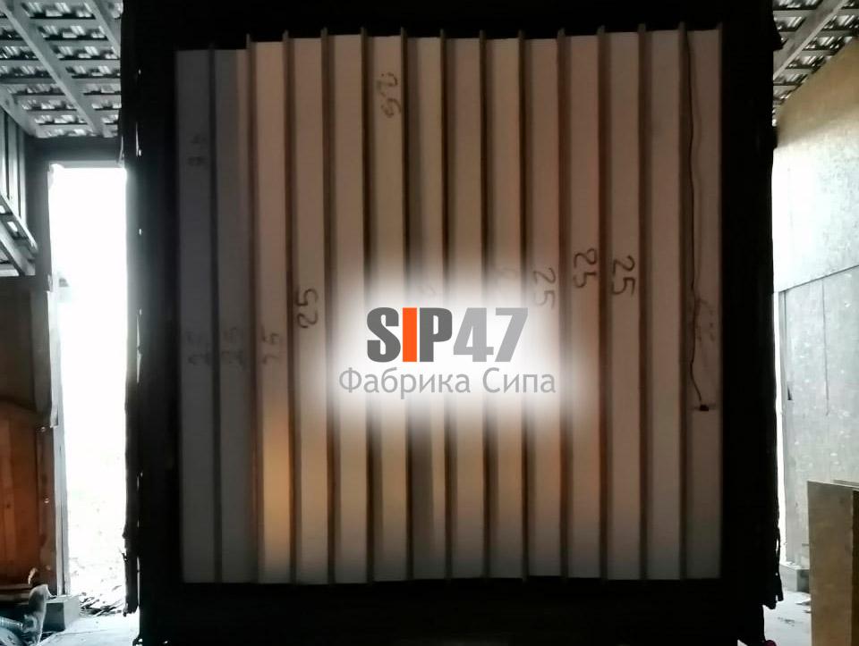 Доставка СИП-панелей в посёлок Первомайское Выборгский район
