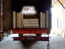 СИП-панели отгружены в Ломоносовский район в посёлок Лебяжье