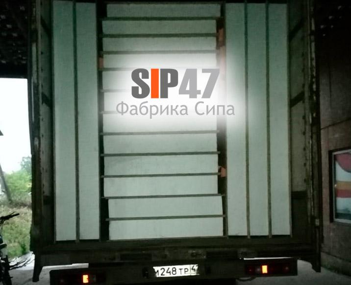 Доставка стандартных СИП-панелей в город Псков