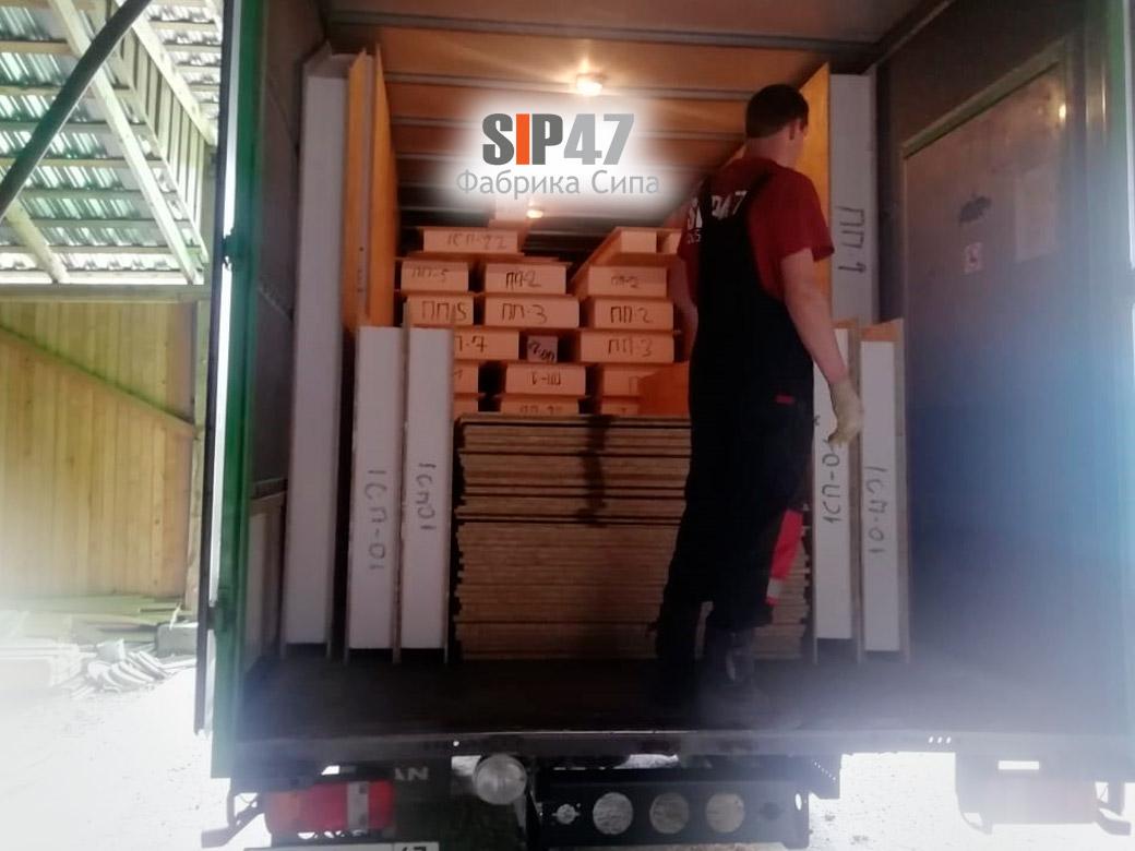 Доставка домокомплекта в посёлок Дунай Всеволожский район