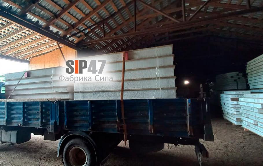 Доставка СИП-панелей в Гатчину