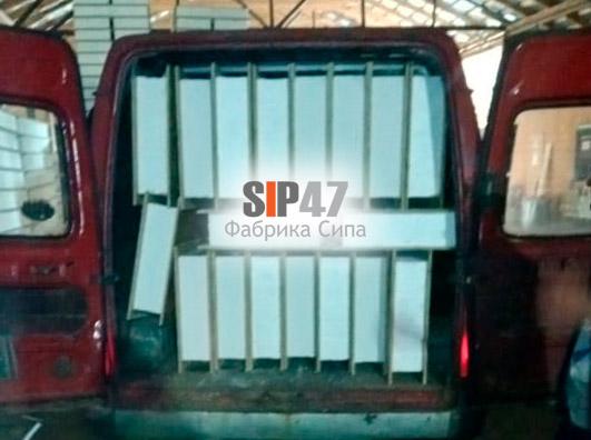 Самовывоз СИП-панелей в город Кингисепп
